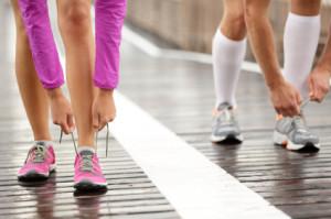 Runner feet